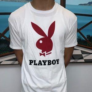 3b73f8d259 PLAYBOY X Pacsun Big bunny logo Tee